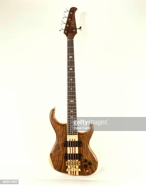 Photo of BASS GUITAR Alembic Essence bass 5 string model studio still life