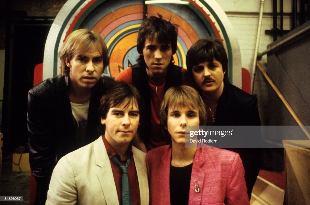 Photo of BAY CITY ROLLERS and Derek LONGMUIR and Alan LONGMUIR and Stuart WOOD and Duncan FAURE and Eric FAULKNER : News Photo