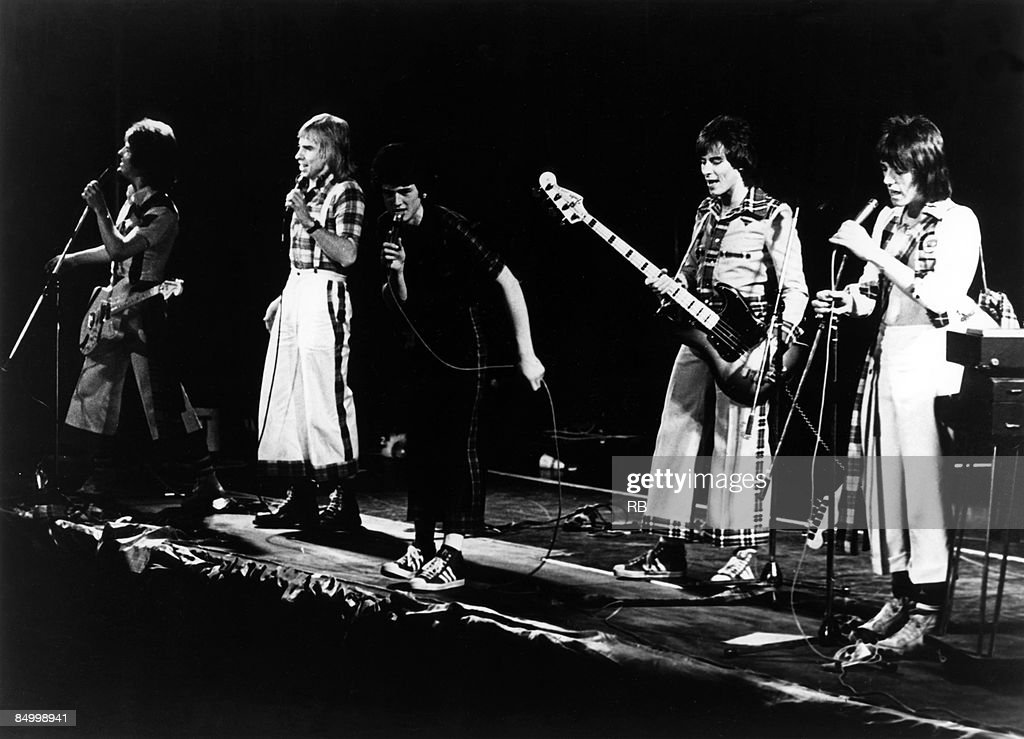 Photo of BAY CITY ROLLERS and Eric FAULKNER and Derek LONGMUIR and Les McKEOWN and Alan LONGMUIR and Stuart WOOD : News Photo