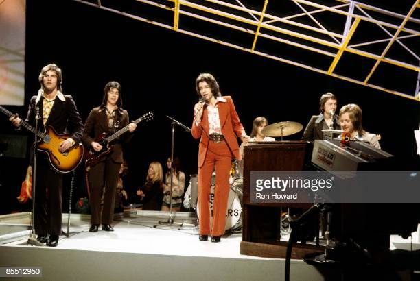 Alan Longmuir Nobby Clark Derek Longmuir performing live on Top Of The Pops TV Show