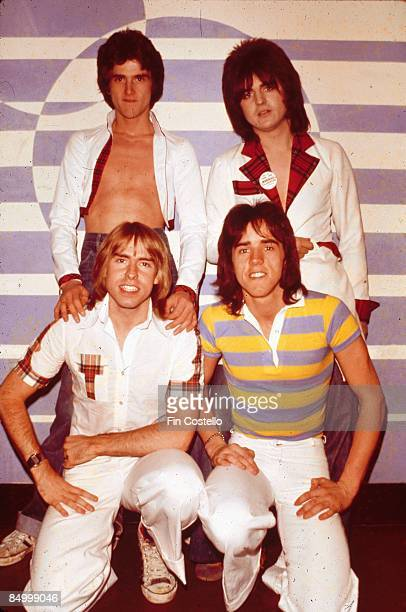Photo of BAY CITY ROLLERS posed group shot