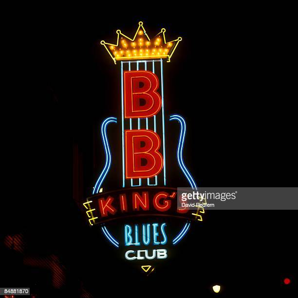 Photo of BB KING and NEON SIGN and BLUES and MEMPHIS