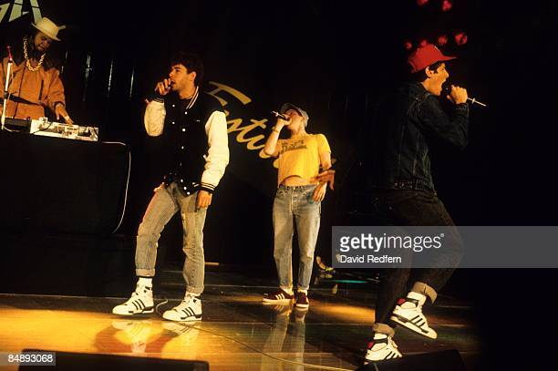 FESTIVAL Photo of BEASTIE BOYS and Adam YAUCH and Michael DIAMOND and Adam HOROVITZ Group performing on stage