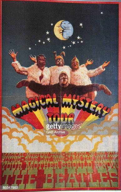 Photo of BEATLES Film poster for Magical Mystery Tour