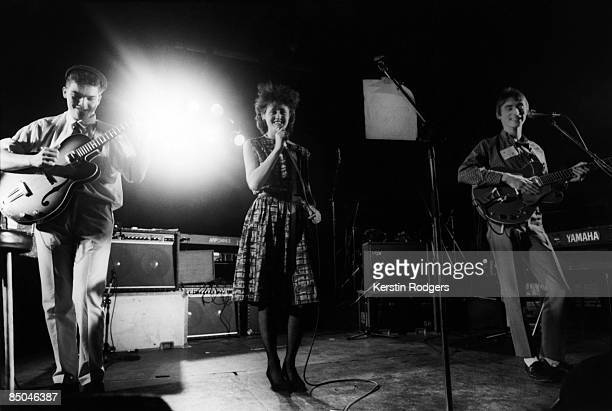 ICA Photo of Ben WATT and EVERYTHING BUT THE GIRL and STYLE COUNCIL and Paul WELLER and Tracey THORN performing live onstage with Paul Weller LR Ben...