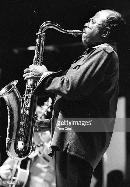 Photo of Benny Golson performing in Monterey California Circa 1977