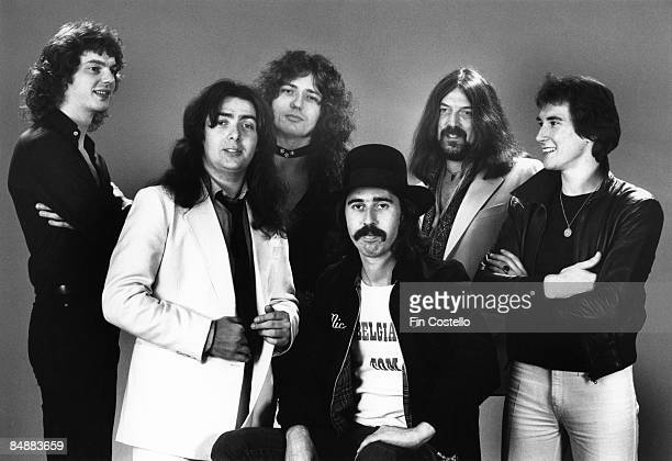 CAMDEN Photo of Bernie MARSDEN and Neil MURRAY and Micky MOODY and Jon LORD and David DOWLE and WHITESNAKE and David COVERDALE LR Neil Murray Bernie...