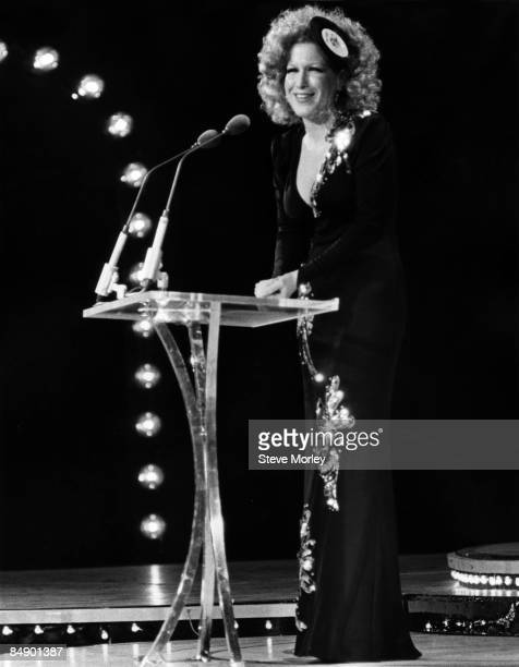 HOLLYWOOD Photo of Bette MIDLER Bette Midler on stage at the Grammy Awards