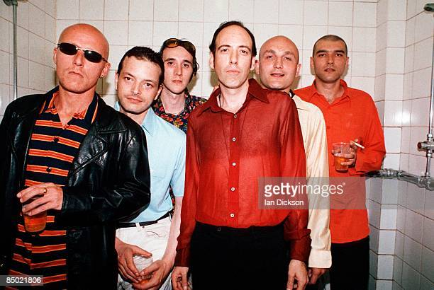 Photo of BIG AUDIO DYNAMITE NOT LR Mick Jones Nick Hawkins Andre Shapps Gary Stonadge Chris Kavanagh Micky Custance
