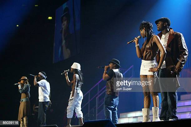 ARENA Photo of Big Brovaz Pepsi Silver Clef Concert Manchester Evening News Arena