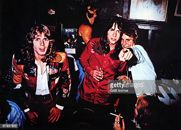 Photo of BIG STAR and Alex CHILTON Alex Chiltonn is far right