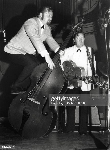 Photo of Bill HALEY Bill Haley the Comets performing at the Musikhalle Hamburg Photo Dr HJ Hibbert