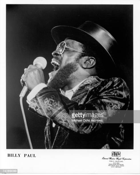 Photo of Billy Paul Photo by Michael Ochs Archives/Getty Images