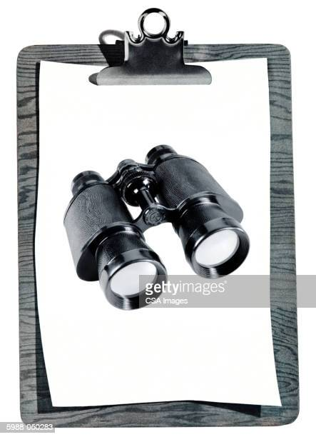 Photo of Binoculars, Clipboard