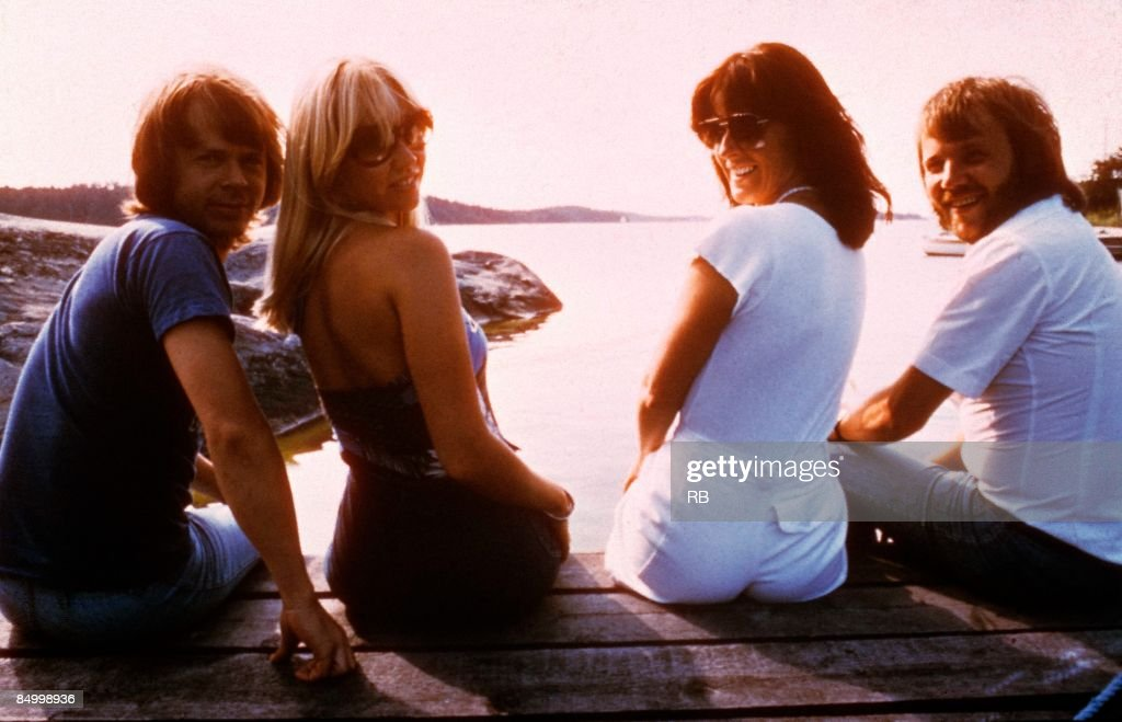 Photo of Bjorn ULVAEUS and ABBA and Benny ANDERSSON and Anni Frid LYNGSTAD and Agnetha FALTSKOG : News Photo