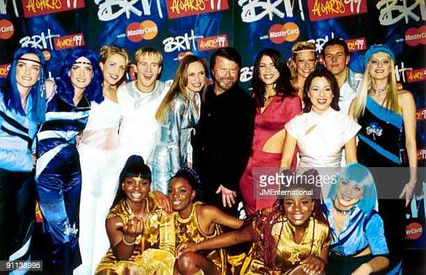 Photo of Bjorn ULVAEUS and CLEOPATRA and B*WITCHED and STEPS, With Other Pop Stars