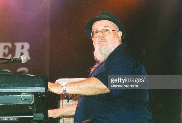 Photo of Blasters & Gene Taylor at the Belgium RNB Festival, Peer, Belgium 2003