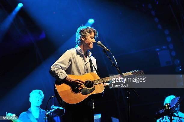 HOUSE Photo of BLUE NILE and Paul BUCHANAN Paul Buchanan performing on stage