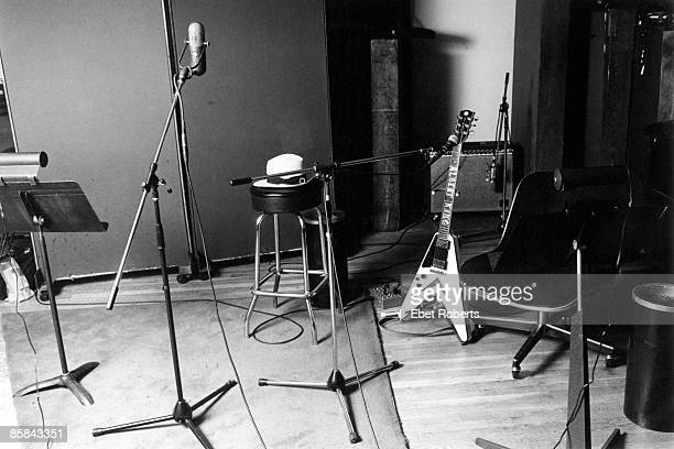 UNSPECIFIED CIRCA 2000 Photo of BLUES and GUITAR and RECORDING STUDIO Albert King's Guitar from a session for Toru Oki in New York City on March...