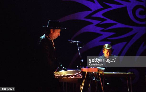 ACADEMY Photo of Bob DYLAN Bob Dylan performing on stage keyboards