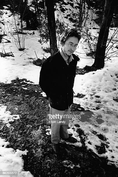 WOODSTOCK Photo of Bob DYLAN Bob Dylan photographed oustide of Elliottt Landy's home in Woodstock for the Nashville Skyline album photo session