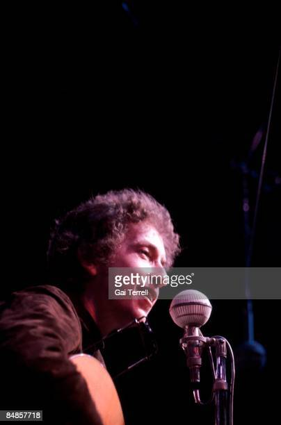 FESTIVAL Photo of Bob DYLAN performing live onstage