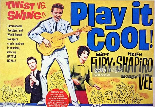 Photo of Bobby VEE and FILM POSTERS and Billy FURY and Helen SHAPIRO Play It Cool