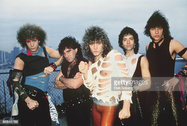 Photo of BON JOVI in New Jersey 13th April 1984