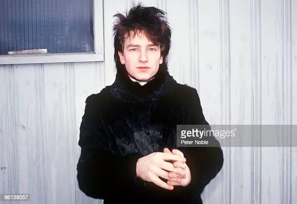 Photo of BONO and U2 Bono posed