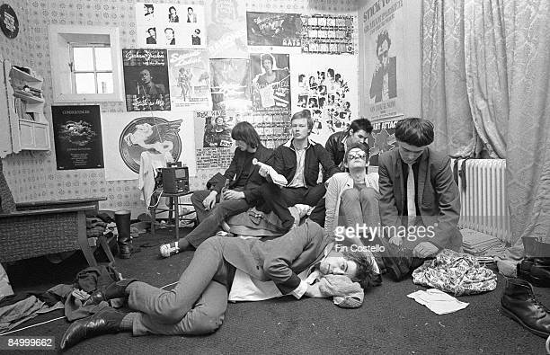 Photo of BOOMTOWN RATS at their house in Chessington SW London
