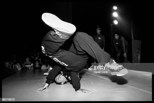 Photo of BREAKDANCING Break Dancer at The Venue London 27 November 1982