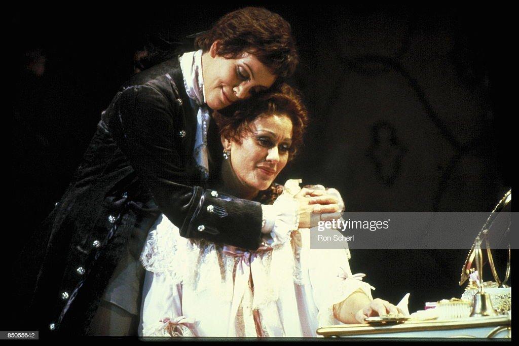 Photo of Brigitte FASSBAENDER and Kiri Te KANAWA and DER ROSENKAVALIER : News Photo