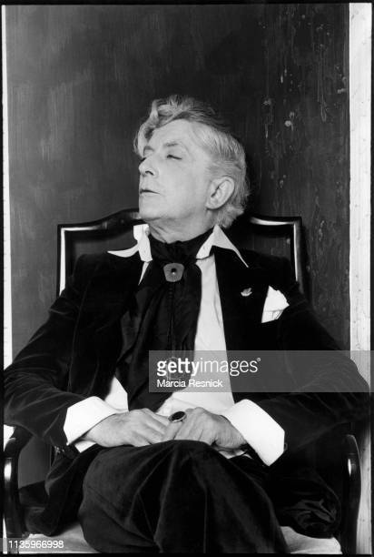 Photo of British author and actor Quentin Crisp , New York, New York, 1980.