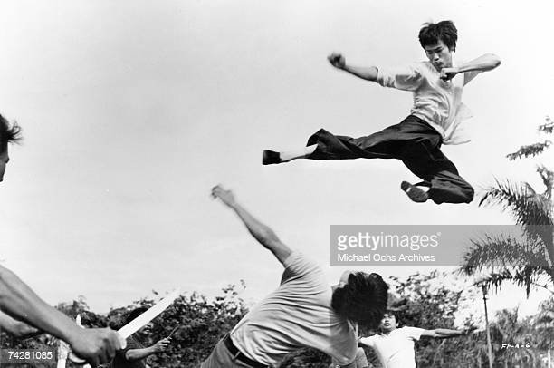 Photo of Bruce Lee in a scene from 'The Big Boss' 1971 Photo by Michael Ochs Archives/Getty Images