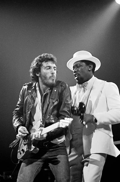 Photo of Bruce SPRINGSTEEN and Clarence CLEMONS