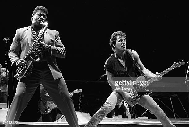 Photo of Bruce Springsteen Clarence Clemons Oakland Colisium Oakland CA