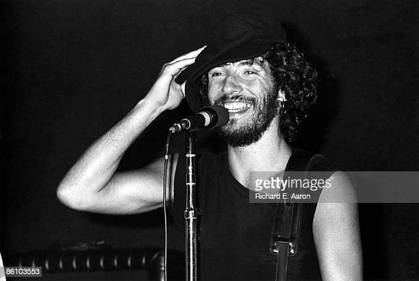 Photo of Bruce SPRINGSTEEN, performing live onstage on Born To Run tour