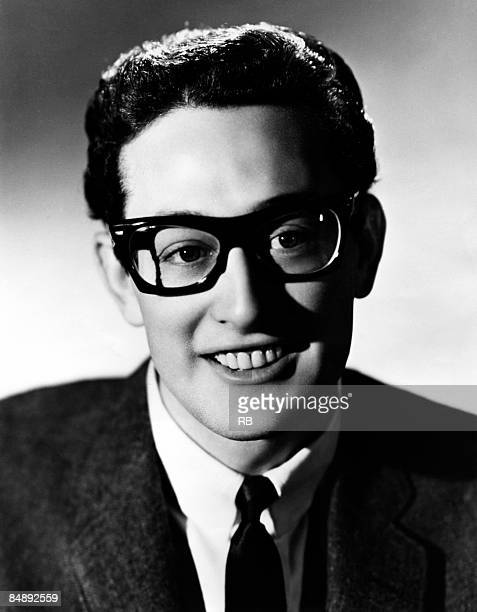 Photo of Buddy HOLLY Posed portrait of Buddy Holly