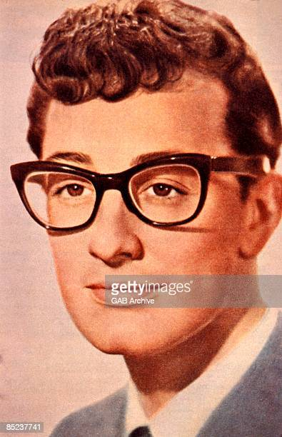 Photo of Buddy HOLLY Posed studio portrait