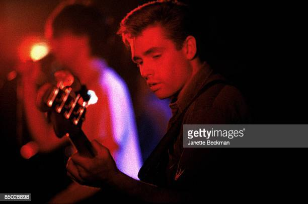 Photo of Bunnymen_JB12 Les Pattinson of Echo and the Bunnymen in concert * Special Fees **
