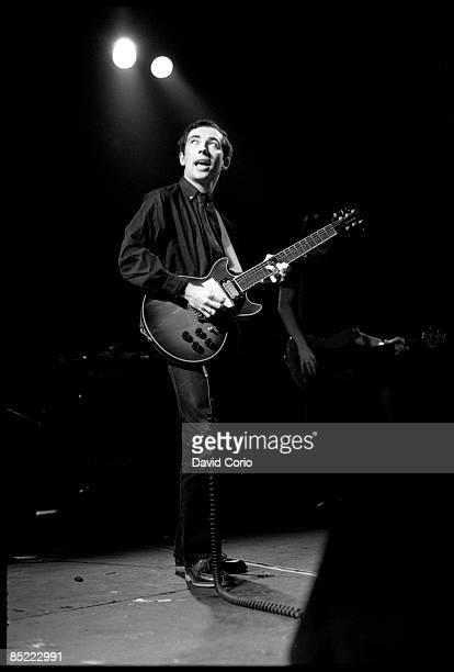 Photo of BUZZCOCKS The Buzzcocks Martin Shelley performing at The Venue London 1979
