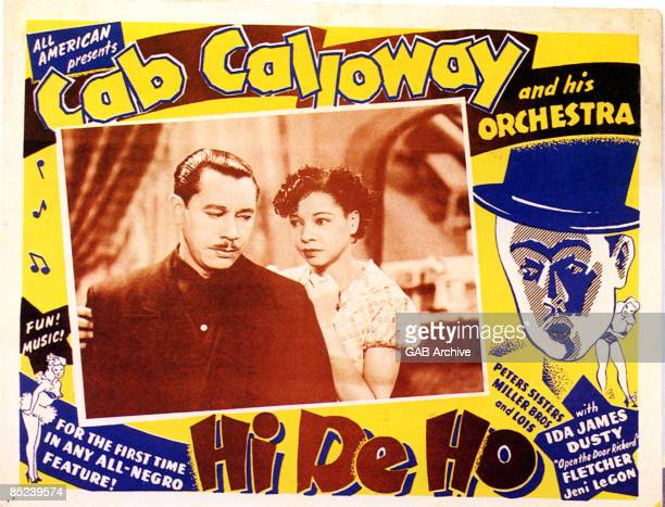 Photo of Cab CALLOWAY and FILM POSTERS Hi De Ho Cab Calloway