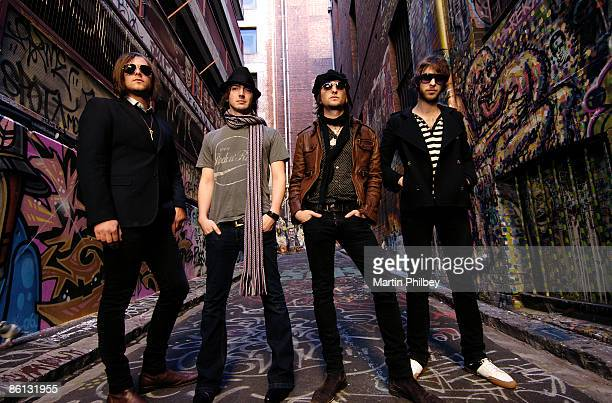 Photo of Cameron MUNCEY and Chris CESTER and Nic CESTER and JET LR Mark Wilson Cam Muncey Nic Cester Chris Cester