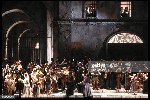 Photo of CARMEN; Production: Jean Pierre Ponnelle. Director: Vera Lucia Calabria165930