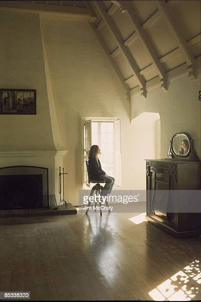 Photo of Carole KING, posed, in Appian Way house, before moving in