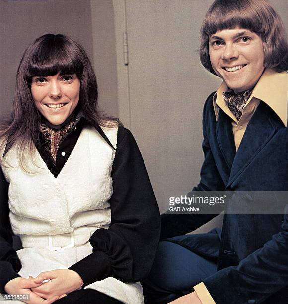 Photo of CARPENTERS and Karen CARPENTER and Richard CARPENTER Posed portrait of Karen and Richard Carpenter
