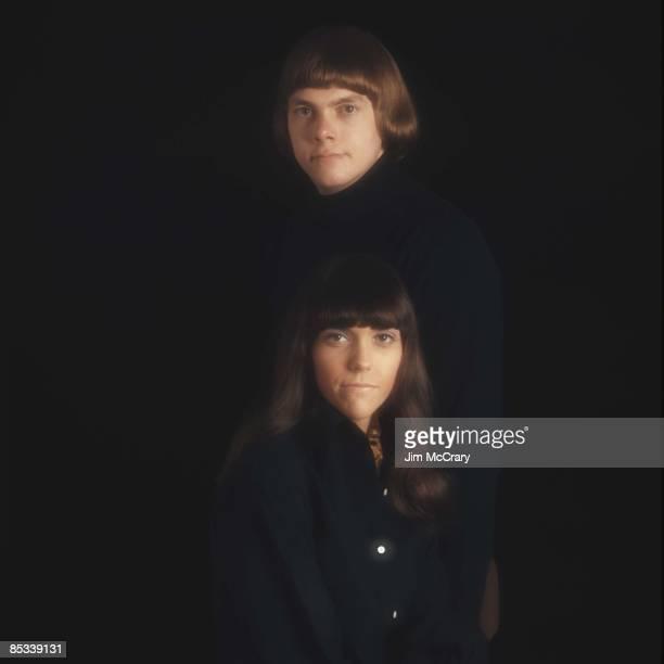 Photo of CARPENTERS and Richard CARPENTER and Karen CARPENTER Posed studio portrait of Richard and Karen Carpenter