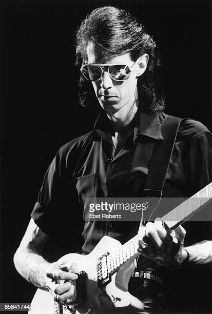 Photo of CARS and Ric OCASEK, Ric Ocasek performing on stage