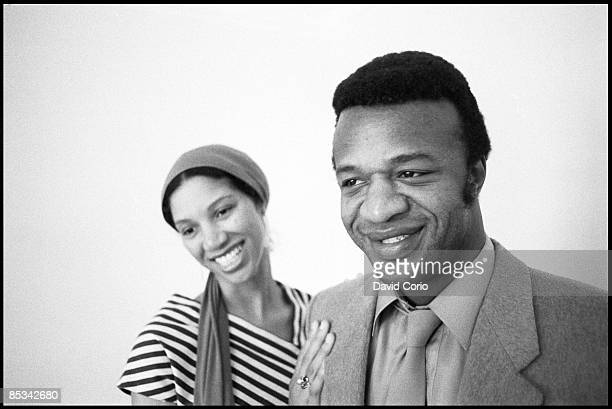 Photo of Cecil WOMACK and Linda COOKE and WOMACK WOMACK Posed portrait of Linda Cooke and Cecil Womack at the John Howard Hote