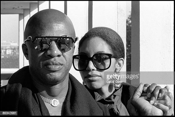 Photo of Cecil WOMACK and Linda COOKE and WOMACK WOMACK Posed portrait of Cecil Womack and Linda Cooke